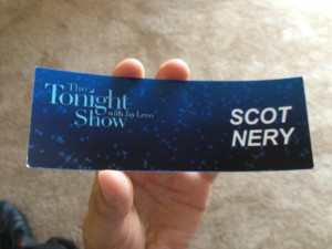 The Tonight Show with Jay Leno .. Scot Nery